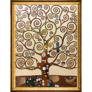 Gustav Klimt 'Tree of Life' (Luxury Line) Hand Painted Oil Reproduction