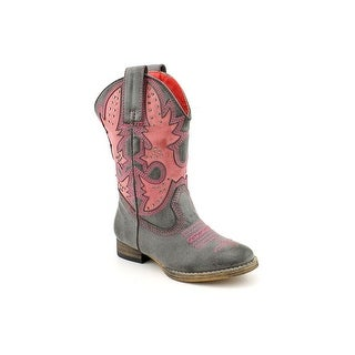 Volatile Prescott Youth Round Toe Synthetic Western Boot