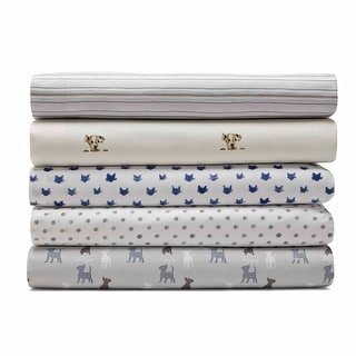 Ellen DeGeneres 100% Cotton-Printed Percale Sheets