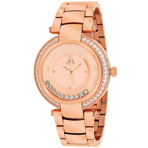 Jivago Women's Celebrate Rose gold Dial Watch - JV1616