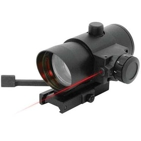 NcStar Quick Release Red Dot Sight with Integrated Laser