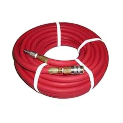 "Abbott Rubber 1010-03825-50-4MM Air Hose Assemblies, 3/8"" x 50'"