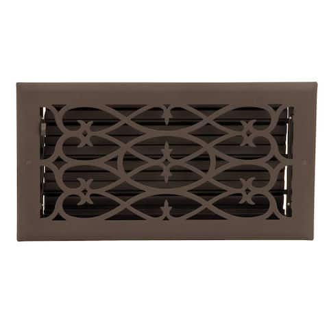 Floor Heat Register Louver Vent Steel 5 3/4 x 11 3/4 Duct Renovator's Supply