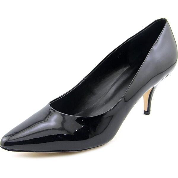 Vaneli Hadera Women N/S Pointed Toe Patent Leather Black Heels