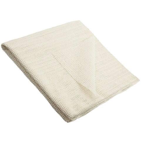 Beige Non-slip Firm Grip Rug Pad