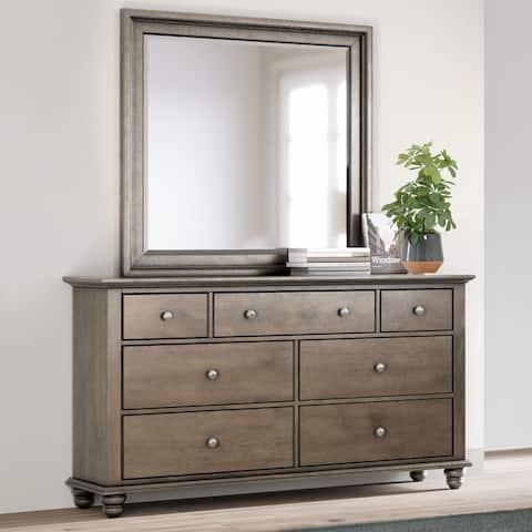 Abbyson Hayden Solid Acacia Wood Dresser