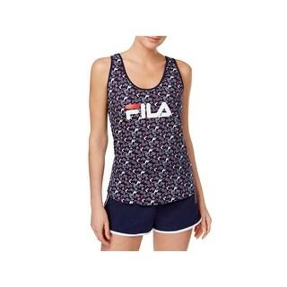 Fila Womens Tank Top Printed Fitness - L