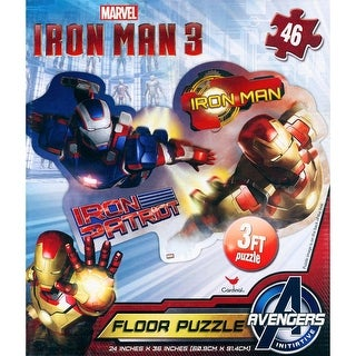 Iron Man 46 Piece Floor Puzzle