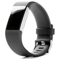 Fitbit Charge 2 Heart Rate + Fitness Wristband, Black, Small