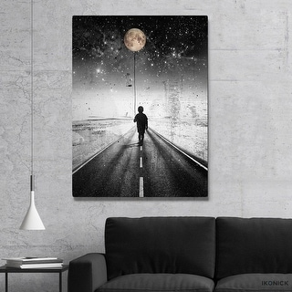IKONICK The Road Canvas Art