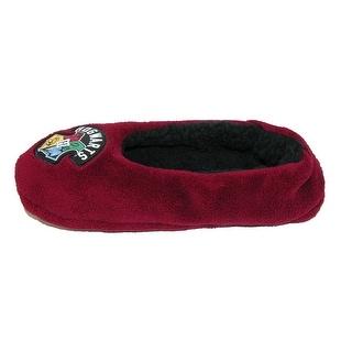 BioWorld Women's Harry Potter Fuzzy Slippers - Red