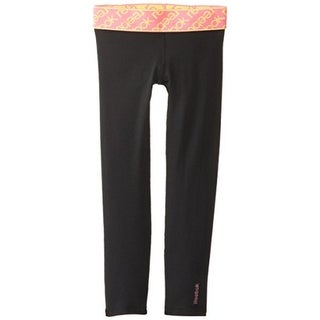 Reebok Girls Jacquard Leggings - 6x