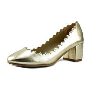 Wanted Mia   Round Toe Synthetic  Heels