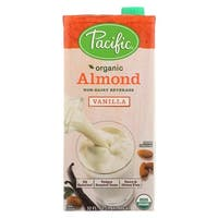 Pacific Natural Foods Almond Vanilla - Non Dairy - Case of 12 - 32 Fl oz.