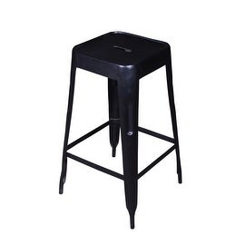 Iron Bar Stool - Set of 2