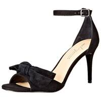 Daya by Zendaya Womens Simms Leather Open Toe Special Occasion Ankle Strap Sa...