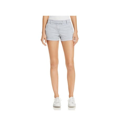 Theory Womens Bennie Shorts Dyed Casual