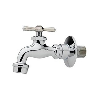 "Homewerks Worldwide 3210-161-CH-B-Z Single Handle Wall Faucet, 1/2"", 2.2 GPM"
