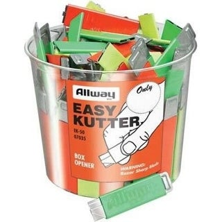 Allway Tools EK-50 Neon Box Easy Cutter, 50/Bucket