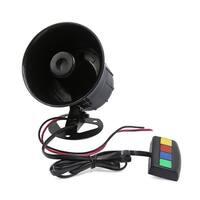 Unique Bargains 12V 30W 4 Sound 110db Tone Motorcycle Electric car Truck Siren Loud Horn Speaker