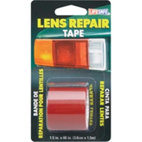 Incom Manufacturing RE36034 Red Lens Repair Tape 1.5 x 5 Ft.