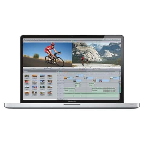 Apple MacBook Pro MD311LL/A Intel Core i7-2860QM X4 2.5GHz 8GB 750GB, Silver (Certified Refurbished)