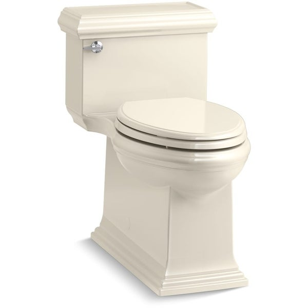 Kohler K 6424 Memoirs 1 28 Gpf Elongated One Piece Comfort Height Toilet With Aquapiston