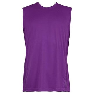 Adidas Mens Solid Sleeveless Muscle Tank