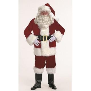 Link to 7-piece Burgundy Velvet Santa Suit Christmas Costume - Adult Size XXXL Similar Items in Christmas Clothing