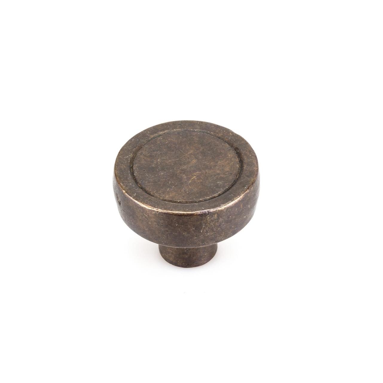 Richelieu COKN175C4  1-3/4 Mushroom Cabinet Knob (Dark Bronze)