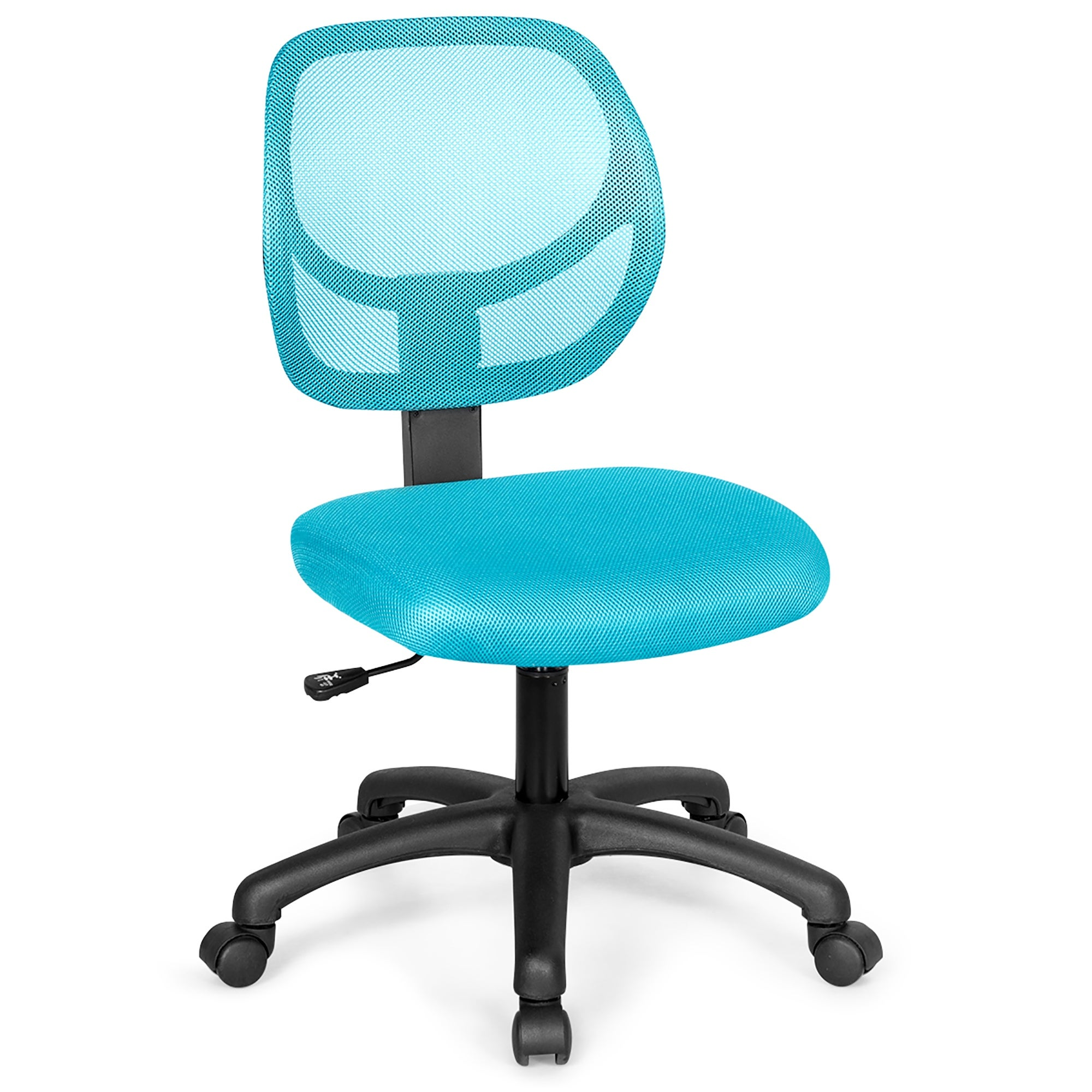 Low-Back Computer Desk Chair Swivel Armless Mesh Task Office Chair