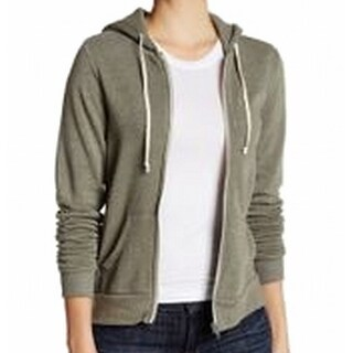 Alternative Apparel NEW Green Military Women's Size XS Hoodie Sweater