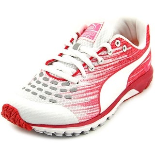 Puma Faas 300 v4 Women  Round Toe Synthetic White Running Shoe