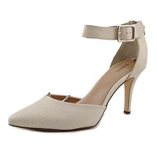 Style & Co Miloe Women Pointed Toe Synthetic Ivory Heels