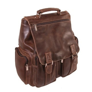 Iris Tyler JACKSON Leather Laptop Backpack