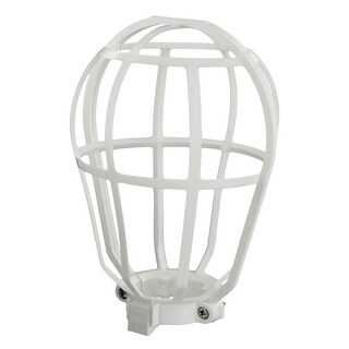 Leviton R40-12200-00W Replacement Bulb Guard, White