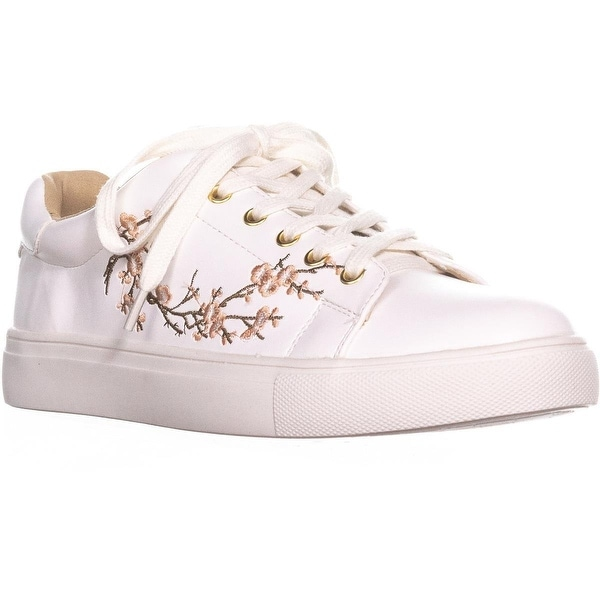 Nanette Lepore Womens Winona Low Top Lace Up Fashion Sneakers