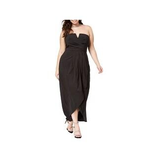 City Chic Womens Plus Semi-Formal Dress Romantic Drape - 22W