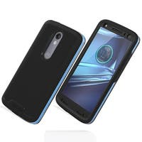 Incipio Performance Level 5 Case with Holster for Motorola Droid Turbo 2 (Blue/B
