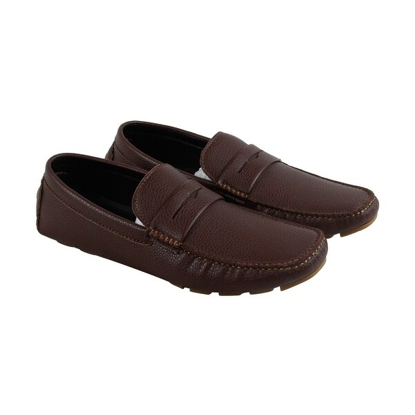 Unlisted by Kenneth Cole Hope Remains Mens Brown Casual Dress Loafers Shoes