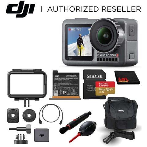 DJI Osmo Action 4K HDR Waterproof Camera Must-Have Bundle