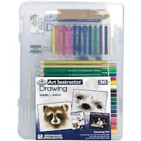 Art Instructor Drawing Clearview Art Set-Small - 36Pc