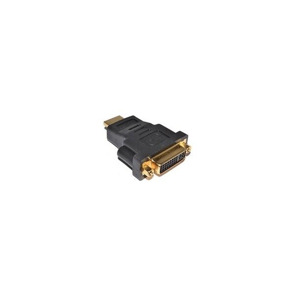 """4XEM 4XHDMIDVIMFA 4XEM HDMI Male To DVI-D Female Gold Plated Video Adapter - 1 x HDMI Male Digital Audio/Video - 1 x DVI-D"