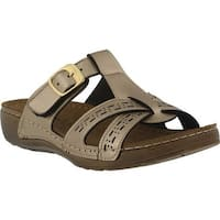 Flexus by Spring Step Women's Nery Slide Sandal Gold