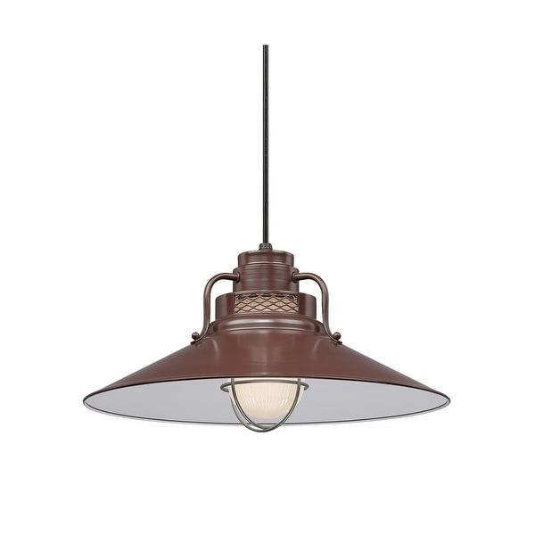 "Millennium Lighting RRRC18 R Series 1-Light 18"" Wide Cord Hung Pendant - n/a"