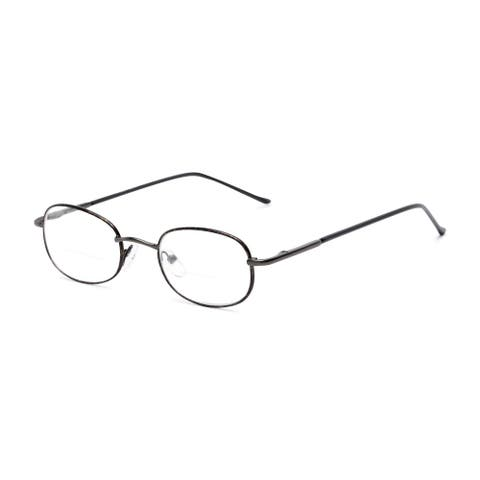 Readers.com The Memphis Bifocal Oval Reading Glasses