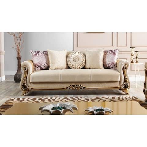 DiscountWorld Hecarim Living Room 3 Seat Convertible Sleeper Sofa