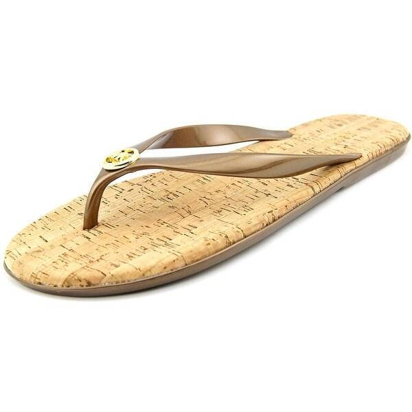Michael Michael Kors Jet Set MK Jelly Bronze Sandals