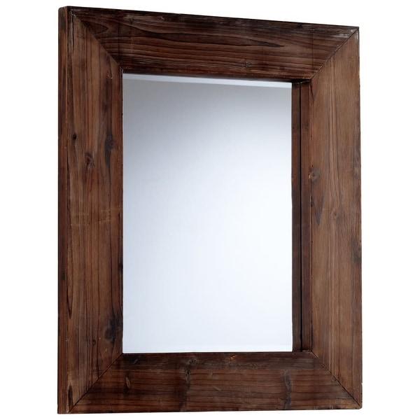 Cyan Design 5592 Ralston Rectangular Mirror - Walnut - N/A