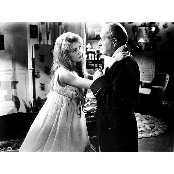 57fb80b81a6 Film still featuring Brigitte Bardot and Andre Luguet in La Parisienne  Photo Print